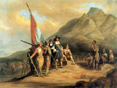 Riebeeck at Cape of Good Hope