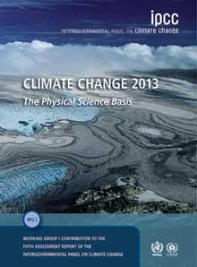 IPCC 2013 report cover