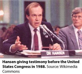 Jim Hansen testimony 1988