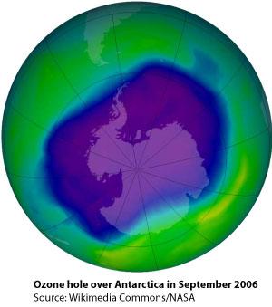 ozone Hole 2006