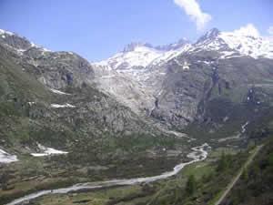 Rhône glacier 2005