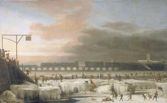 Frozen Thames