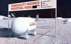 Lunar industry park