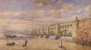 Severn Barrage, ca. 1849
